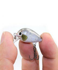 Leurre dur mini crankbait 3cm 1.8g x5