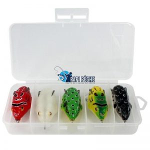 Grenouille Frog Leurre de surface  5cm 9g Nombreuse couleurs