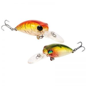 Crankbait 2mm 2.7g Mini Crank aimant à perche