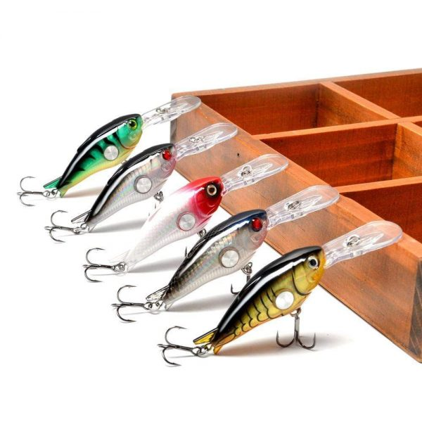 Crankbait 10g 55mm 1.8-3.9M Deep Runner