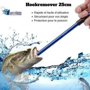 Dégorgeoir Hookremover facile à utiliser