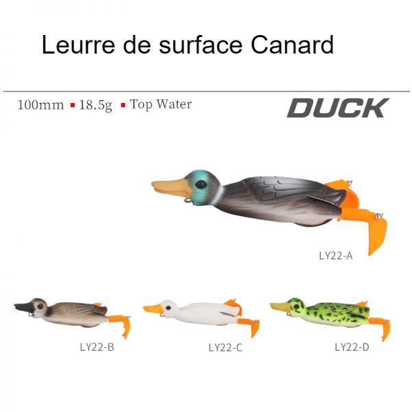Leurre de surface Canard